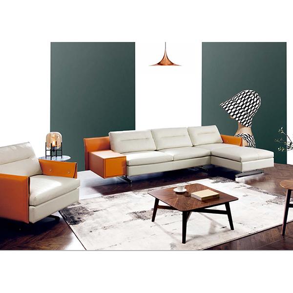Genuine Leather Sofa Modern Leather Sofa Set