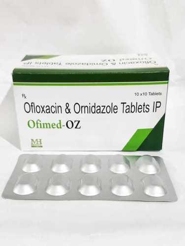 OFLOXACIN + ORNINDAZOLE TABLET (OFIMED-OZ TABLET)