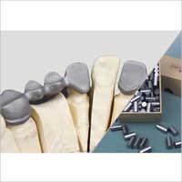 Dental Cobalt Chromium Ceramic Casting Alloy Columnar
