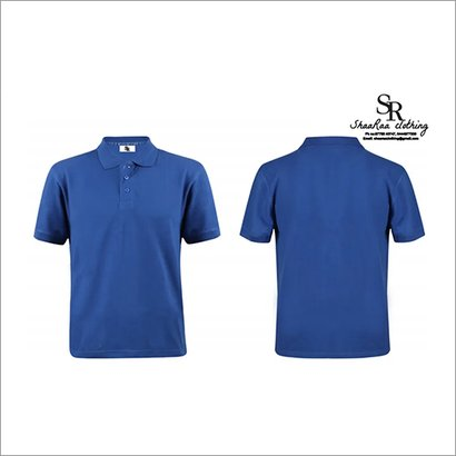 Blue Mens Corporate T-Shirts