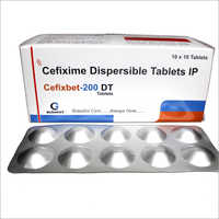 Cefixime Dispersible Tablets IP