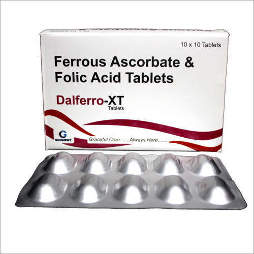 Ferrous Ascorbate And Folic Acid Tablets
