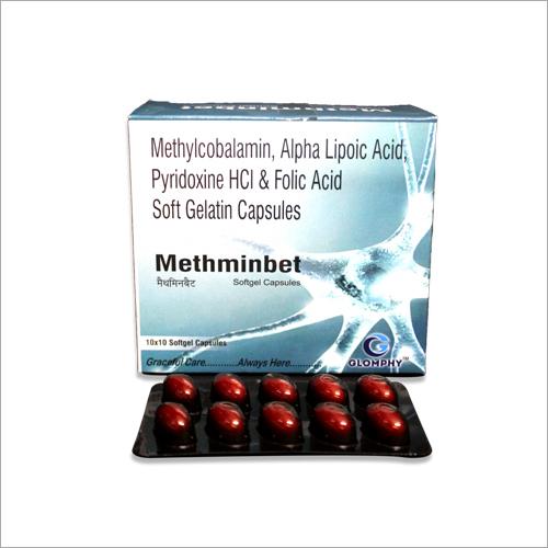 Methylcobalamin Alphalipoic Acid And Folic Acid Soft Gelatin Capsules
