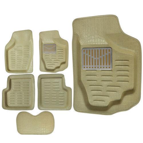 4D Car Floor Mat Crocodile Design