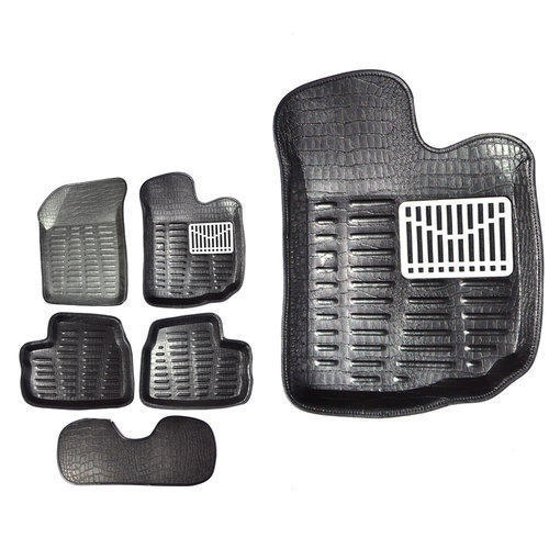 Black 4D Car Floor Mats