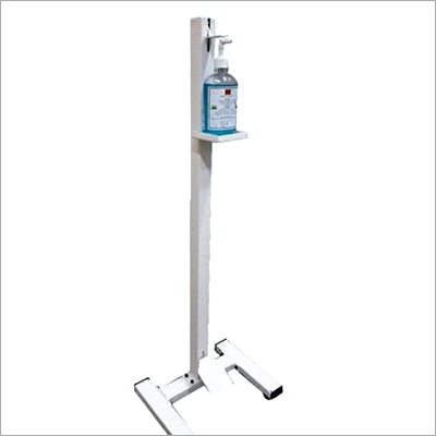 Leg Operated Sanitizer Dispenser Stand