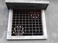 Mild Steel Grill Window