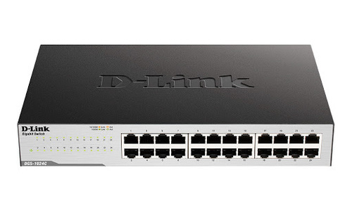 D-LINK 24 Port Gigabyte Switch 10/100/1000