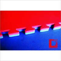 Taekwondo Red and Blue Interlocking Mat