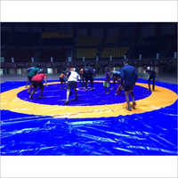 JSR Blue Wrestling Mat