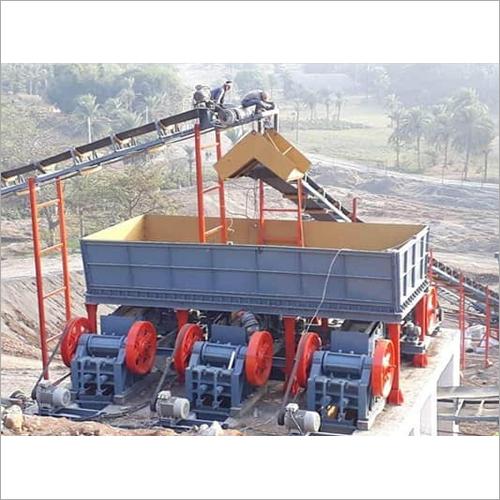 Industrial Mild Steel Mobile Crushing Plant