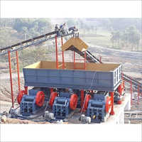 Industrial Mild Steel Mobile Crushing Plant