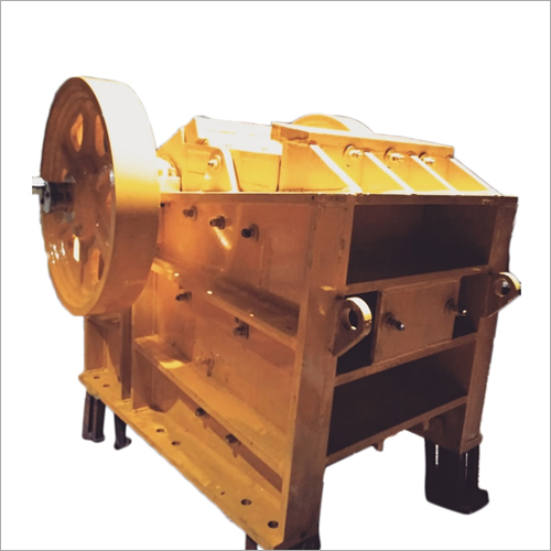 Industrial Mild Steel Jaw Crusher