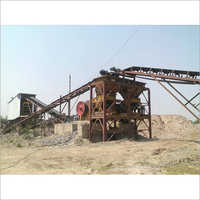 Skid Mounted Portable Crushing Plant