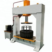 Forklift Tyre Press