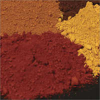 Red and Yellow Iron Oxide Pigment