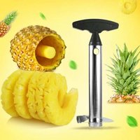 Stainless Steel Pineapple Cutter And Fruit Peeler Corer Slicer Kitchen Knife