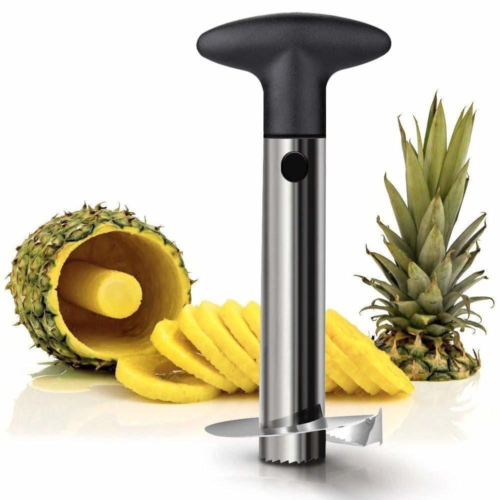 Stainless Steel Pineapple Cutter And Fruit Peeler Corer Slicer Kitchen Knife