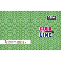 Gold Line Notebooks