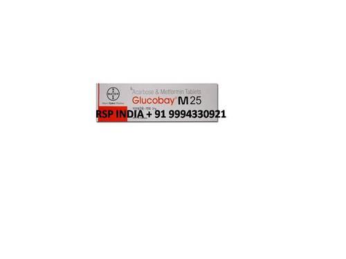 Glucobay M 25 Tablets