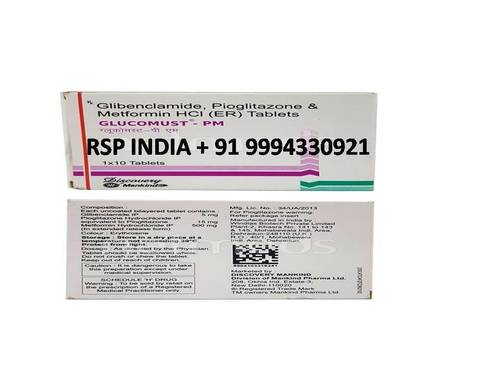 Glucomust Pm Tablets
