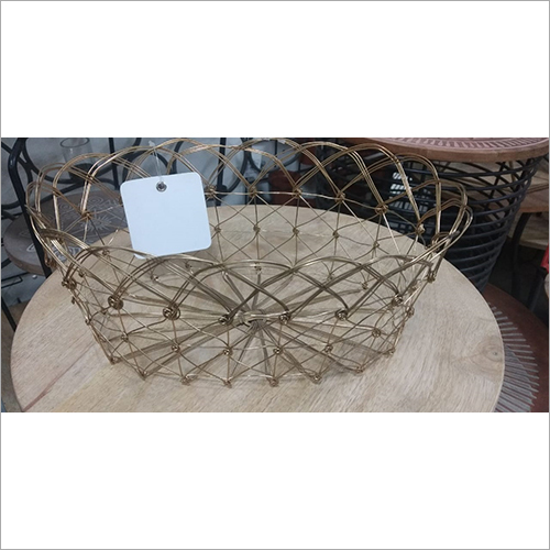 Iron Wire Fruit Basket