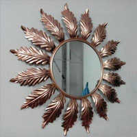 Wall Flower Design Mirror