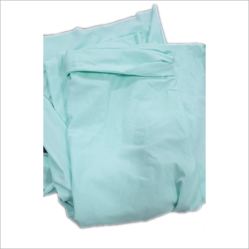 Single Colour Cotton Lycra Fabric