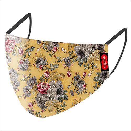 Ladies Floral Printed Mask