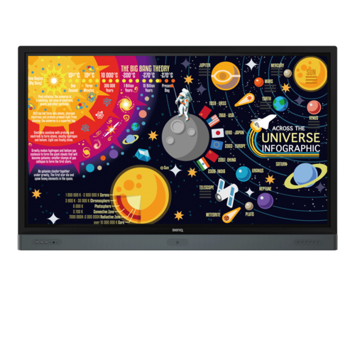 Rm8601k Benq Interactive Flat Panel