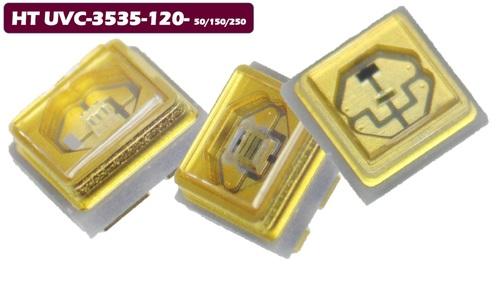 LED UVC 265~275nm 100mA 5~7V 1W 8~12 / 12~16mW