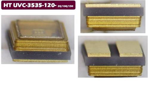 LED UVC 265~275nm 20mA 10*20mil 4-6V 4-6mW