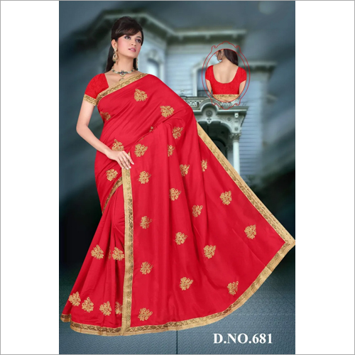 Ladies Embroidered Saree
