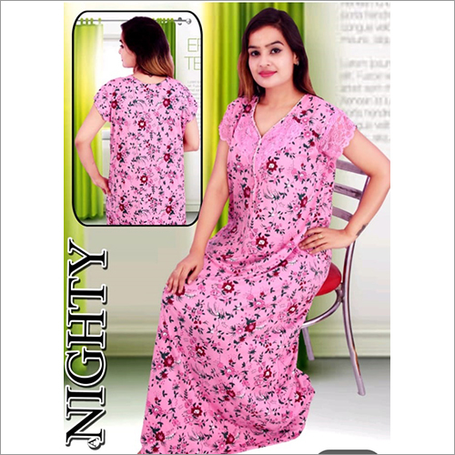 Printed Night Gown