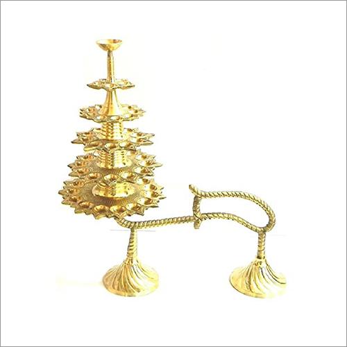 Brass Adukku Vilakku