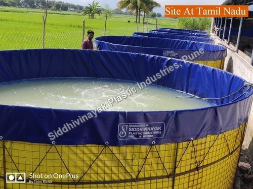 PVC Biofloc Aquaculture Tanks Tarpaulins