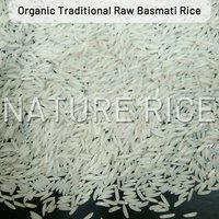 Organic Traditional White Raw Basmati Rice