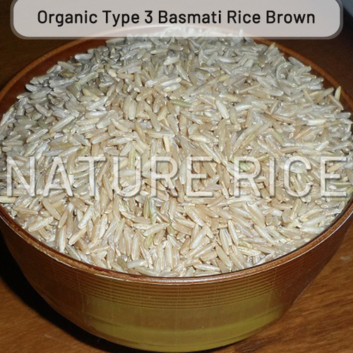 Organic Type 3 Brown Basmati Rice