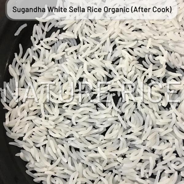Organic Sugandha White Sella (Parboiled) Rice
