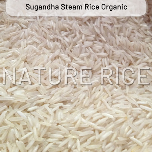 Organic Sugandha Steam Rice