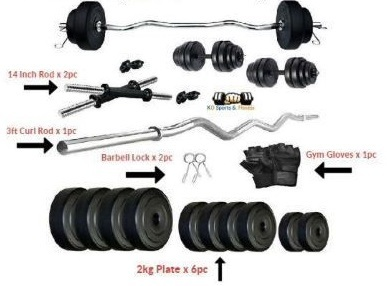 KD Weight Home Gym Dumbbell Set (10,12, 18, 22, 40 in kgs)