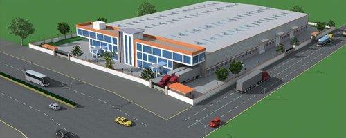 Pre Engineering Warehouse Building