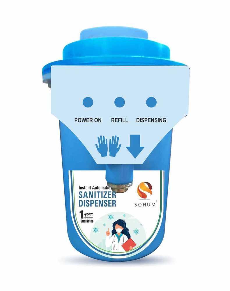 SOHUM Instant Automatic Sanitizer Soap Dispenser