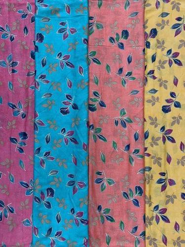 Rayon Capsule Foil Print Fabrics