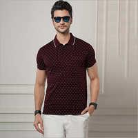 Mens Polo Neck T-Shirts