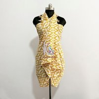 100% Cotton Beach Wear Dress Printed  Sarong