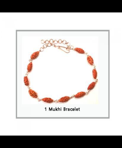 1 MUKHI NEPAL RUDRAKSHA BRACELET