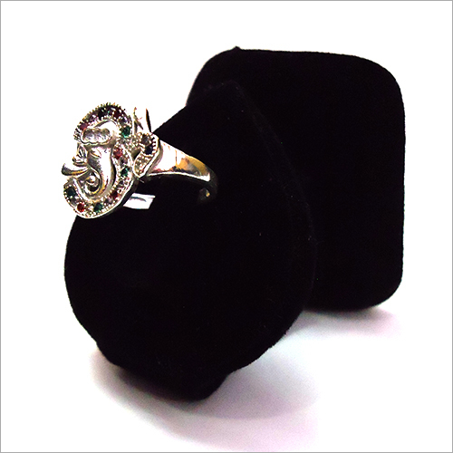 Silver Ganesh Ring