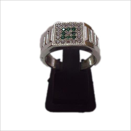 Silver Moti Ring
