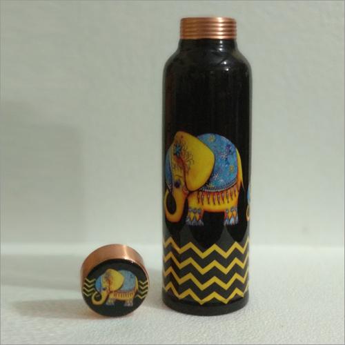 Designer Copper Water Bottle